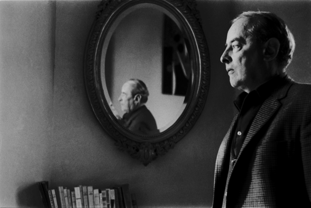 Witold Gombrowicz, Vence fot. Bohdan Paczowski